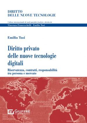 DIRITTO PRIVATO DELLE NUOVE TECNOLOGIE DIGITALI