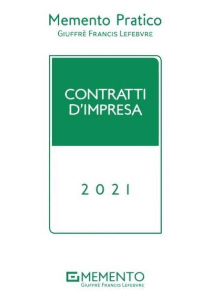 MEMENTO PRATICO - CONTRATTI D'IMPRESA
