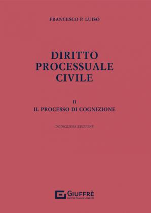 DIRITTO PROCESSUALE CIVILE II