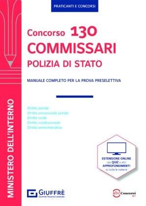 CONCORSO 130 COMMISSARI POLIZIA DI STATO