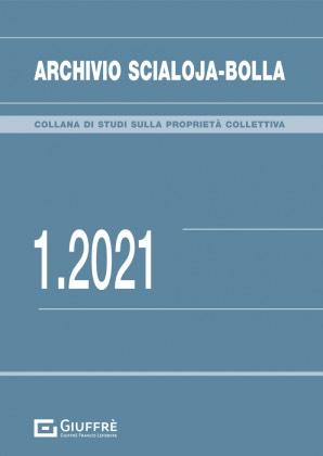 ARCHIVIO SCIALOJA-BOLLA 1/2021