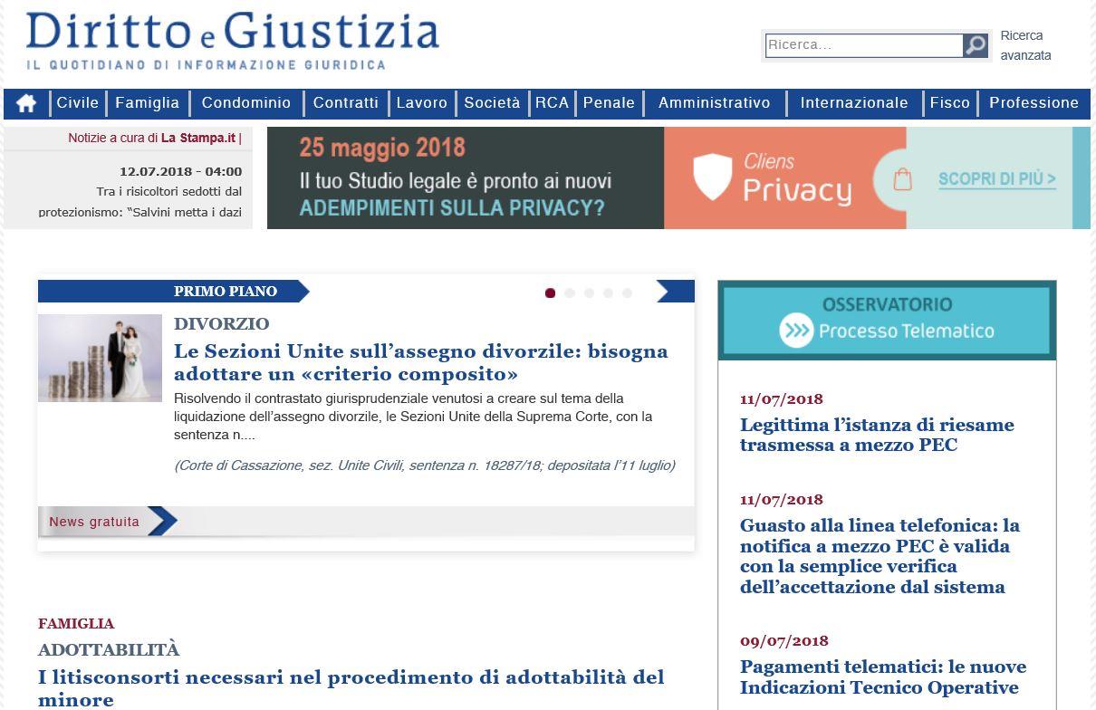 DirittoeGiustizia.it