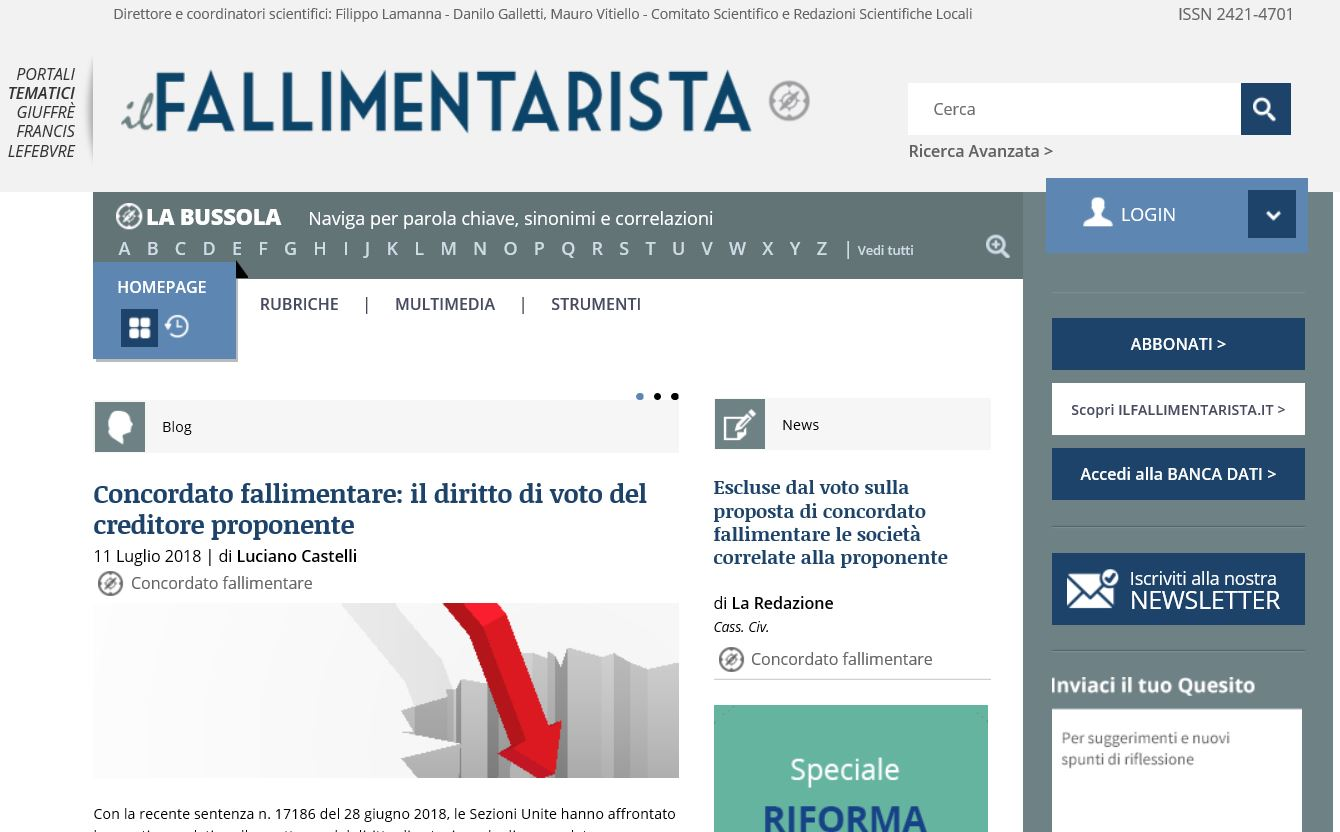 ilFallimentarista.it