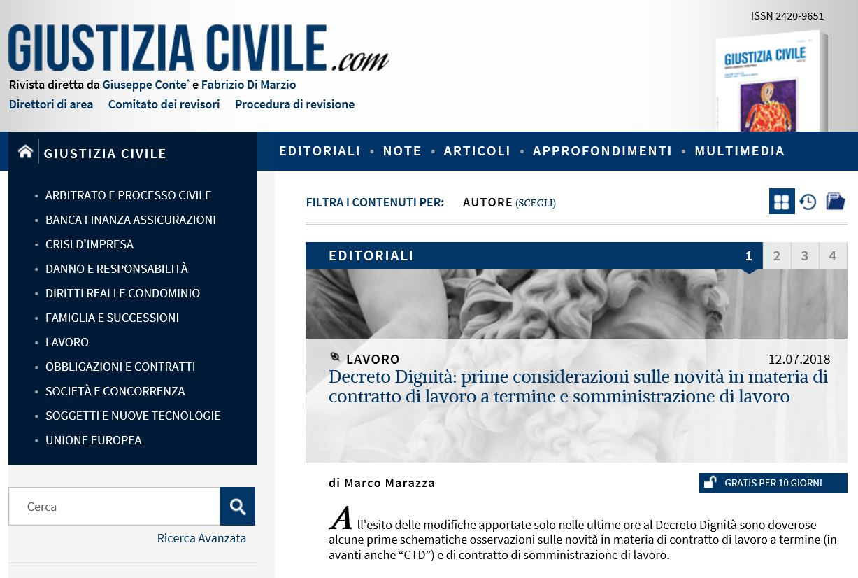 GiustiziaCivile.com